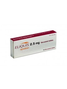 Eliquis -2.5mg (30 Pills)