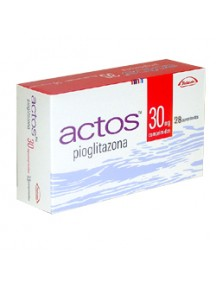 Generic Actos (Pioglitazone)-30mg (30 Pills)
