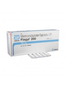 Brand FLAGYL-200mg (60 pills)