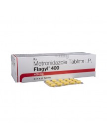 Brand FLAGYL-400mg (60 pills)