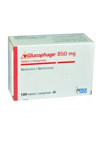 Generic Glucophage-850mg (100 Pills)