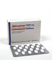 Generic Glucophage-1000mg (100 Pills)